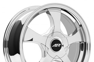 "AMERICAN RACING® - AR895 Bright PVD (14"" x 6"", +35 Offset, 4x100 Bolt Pattern, 72.6mm Hub)"