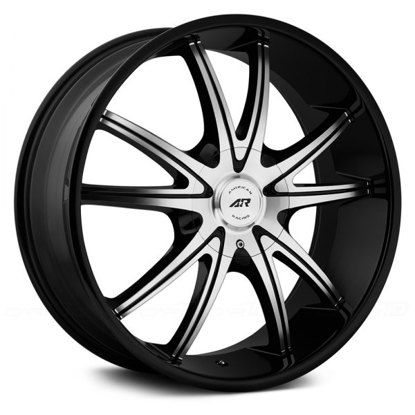 AMERICAN RACING® - AR897 Gloss Black with Machined Face