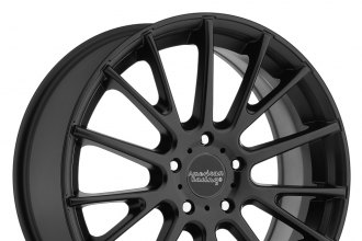 "AMERICAN RACING® - AR904 Satin Black (17"" x 7"", +40 Offset, 5x114.3 Bolt Pattern, 72.6mm Hub)"