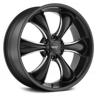 AMERICAN RACING® - AR914 TT60 TRUCK Satin Black with Milled Accents