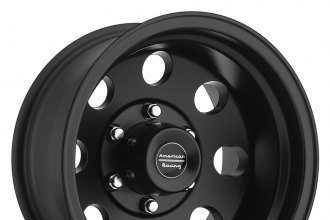 "AMERICAN RACING® - BAJA Satin Black (15"" x 8"", +20 Offset, 5x114.3 Bolt Pattern, 83.1mm Hub)"