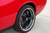 AMERICAN RACING® - TORQ THRUST M Gloss Black with Machined Lip on Dodge Challenger