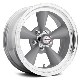 AMERICAN RACING® - VN309 TORQ THRUST ORIGINAL 1PC Painted Gray with Machined Lip