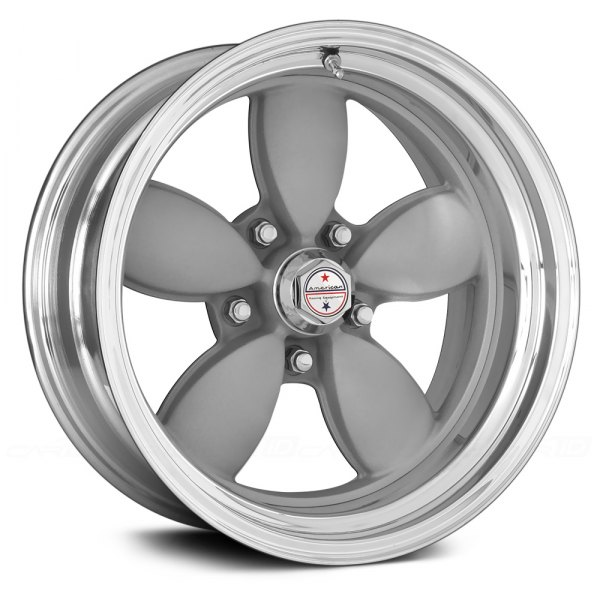 AMERICAN RACING® - 200S Silver with Polished Lip