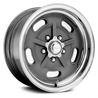 AMERICAN RACING® - SALT FLAT SPECIAL Gray with Polished Lip