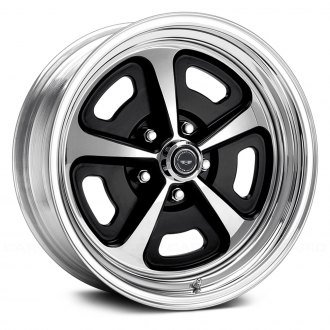 AMERICAN RACING® - VN500 CUSTOM 500 2PC Polished with Black Center
