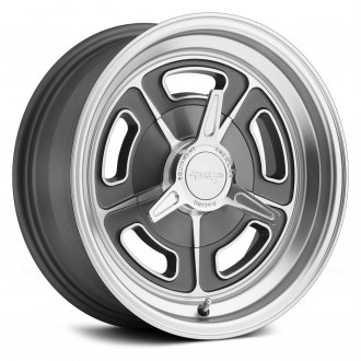 AMERICAN RACING® - VN502 1PC Magnesium Gray with Machined Lip