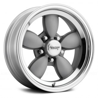AMERICAN RACING® - VN504 1PC Magnesium Gray with Machined Lip