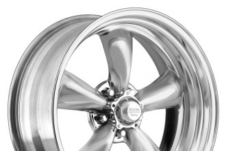 "AMERICAN RACING® - TORQ THRUST II 1 PC Polished (16"" x 7"", 0 Offset, 5x120.65 Bolt Pattern, 83.1mm Hub)"