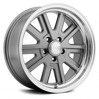 AMERICAN RACING® - VN527 427 1PC Magnesium Gray with Machined Lip