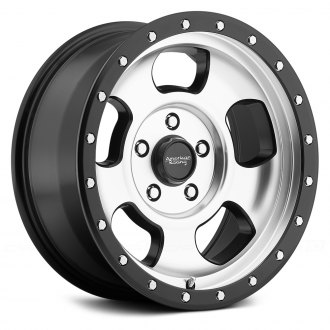 AMERICAN RACING® - ANSEN OFF ROAD Satin Black with Machined Face