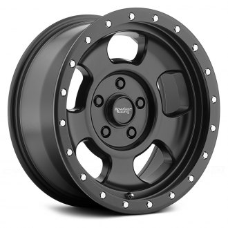 AMERICAN RACING® - ANSEN OFF ROAD Satin Black