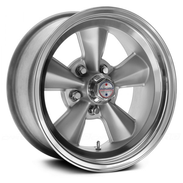 AMERICAN RACING® - T70R Gunmetal with Polished Lip
