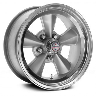 AMERICAN RACING® - VNT70R 1PC Gunmetal with Polished Lip