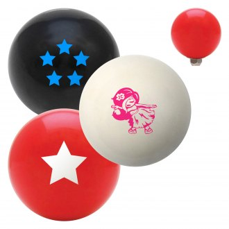 "American Shifter® - Billiard Cue Ball Series ""Anime"" Custom Shift Knob"