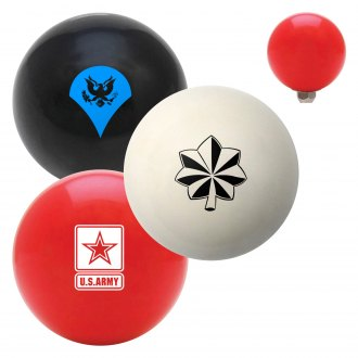"American Shifter® - Billiard Cue Ball Series ""Army"" Custom Shift Knob"