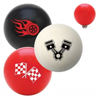 "American Shifter® - Billiard Cue Ball Series ""Automotive"" Custom Shift Knob"