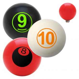 "American Shifter® - Billiard Cue Ball Series ""Billiards"" Custom Shift Knob"