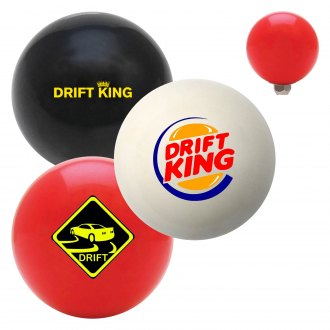 "American Shifter® - Billiard Cue Ball Series ""Drifting"" Custom Shift Knob"