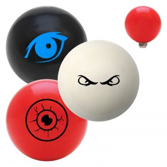 "American Shifter® - Billiard Cue Ball Series ""Eyes"" Custom Shift Knob"