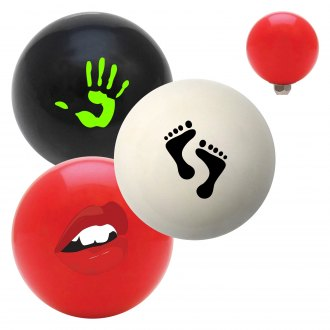 "American Shifter® - Billiard Cue Ball Series ""Hands Feet and Body"" Custom Shift Knob"