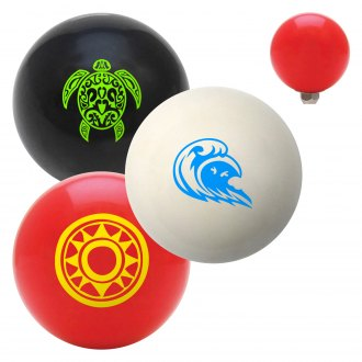 "American Shifter® - Billiard Cue Ball Series ""Hawaii"" Custom Shift Knob"