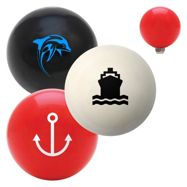 Marine Shift Knobs : American shifter billiard cue ball series quot marine