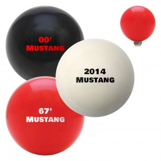 "American Shifter® - Billiard Cue Ball Series ""Mustang"" Custom Shift Knob"