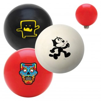 "American Shifter® - Billiard Cue Ball Series ""People and Characters"" Custom Shift Knob"