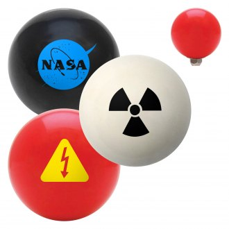 "American Shifter® - Billiard Cue Ball Series ""Science Technology and Medicine"" Custom Shift Knob"