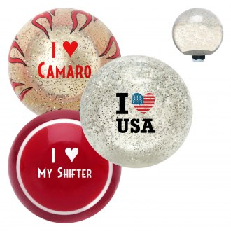 "American Shifter® - Old Skool Series ""I Heart..."" Custom Shift Knob"