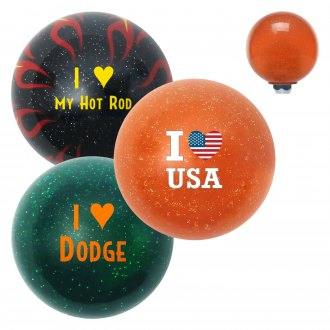 "American Shifter® - Old Skool Series ""I Heart..."" Translucent Custom Shift Knob"