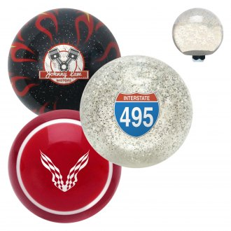 "American Shifter® - Old Skool Series ""Symbols and Signs"" Custom Shift Knob"