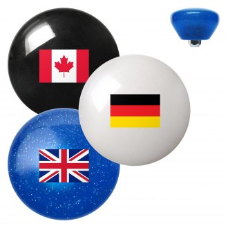 "American Shifter® - Retro Series ""Flags of the World"" Custom Shift Knob"