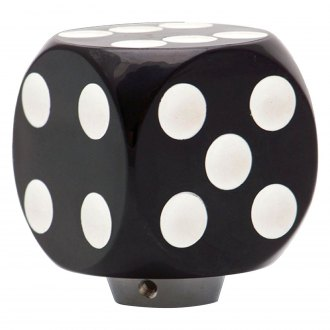American Shifter® - Black Dice Custom Shift Knob