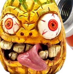 American Shifter® - Tikiapple Pineapple Tiki Custom Shift Knob