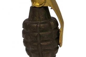 American Shifter® ASCSN05001 - Limited Edition™ Series Pineapple Grenade Custom Shift Knob