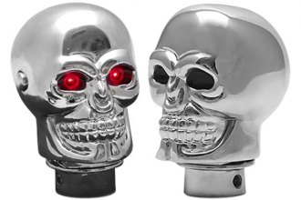 American Shifter® - Chrome Skull™ Custom Shift Knob