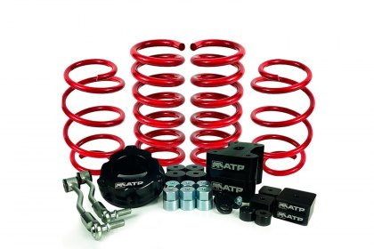 35150002 - American Trail® Front and Rear Suspension Lift Kit (Full HD)