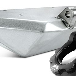 American Trail® - JK Front Skinny Bumper with Shackle Tabs