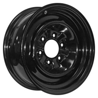 "Americana® - Wheel Only Conventional 15"" x 6"" (5-4.5) Black"