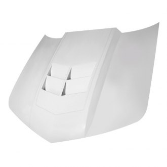 Amerihood® - Type-ZL1 Style Functional Heat Extractor Hood (Unpainted)