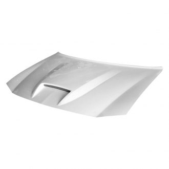 Amerihood® - Type-SRT Style Functional Ram Air Fiberglass Hood (Unpainted)