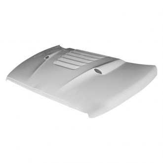 Amerihood® - Type-TS Style Functional Heat Extractor Ram Air Hood (Unpainted)