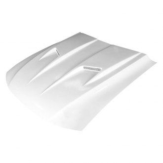 Amerihood® - Type-3 Style Functional Heat Extraction Ram Air Fiberglass Hood (Unpainted)