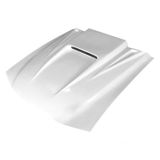Amerihood® - 5 Style Functional Heat Extraction Ram Air Fiberglass Hood (Unpainted)