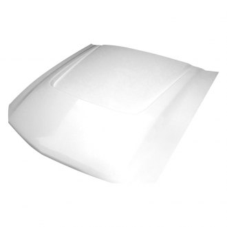 Amerihood® - SBY Style Functional Heat Extraction Fiberglass Hood (Unpainted)