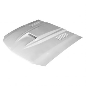 Amerihood® - SMS Style Functional Heat Extraction Ram Air Fiberglass Hood (Unpainted)