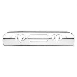 All Sales 42400K Black Billet Aluminum 3rd Brake Light Cover