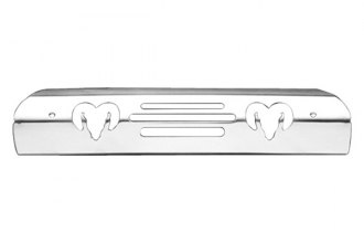 AMI® 42000P - Ramshead Style Polished Billet 3rd Brake Light Cover